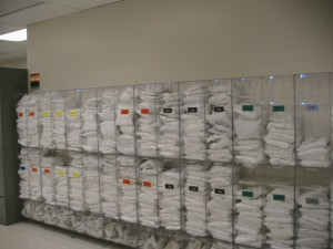 new gowning room bins 001
